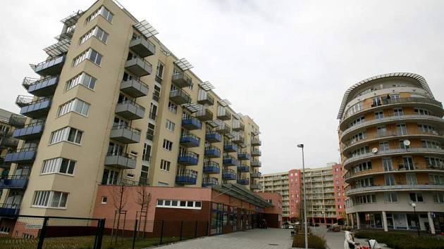 Bytové domy v pražských Stodůlkách