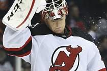 Brankář New Jersey Devils Cory Schneider.