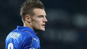 Jamie Vardy z Leicesteru.