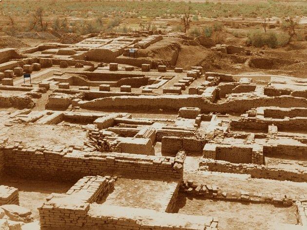 Jedna z nejvýznamnějších asijských památek z doby bronzové, slavné Mohendžodáro.