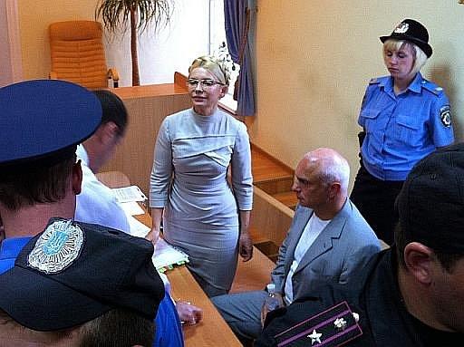Julia Tymošenková u soudu