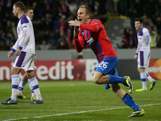 Důležitý moment. Daniel Kolář dal gól na 1:1