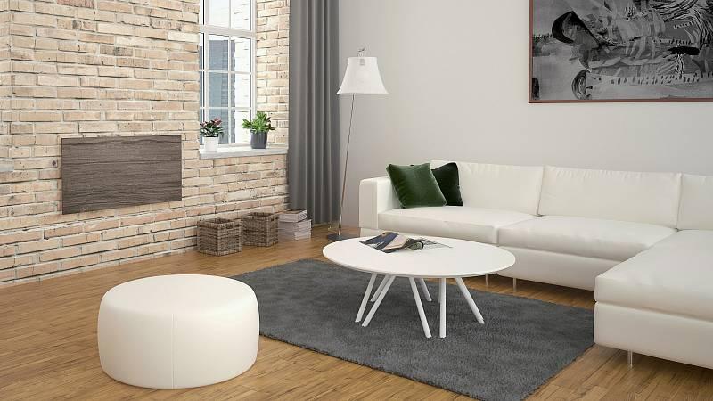 Infračervené sálavé topné panely nepotřebují mít nějaké technické normy na vzhled.  A tak mohou vypadat jako nádherný doplněk interiéru.