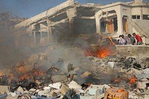 Výbuch v Somálsku