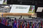Ostře sledované volby šéfa FIFA: Dějiště kongresu v Curychu