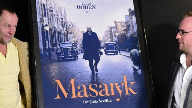 film Masaryk -  KAREL RODEN, JULIUS ŠEVČÍK