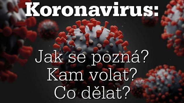Koronavirus: Jak se pozná? Kam volat? Co dělat?