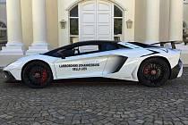 Lamborghini Aventador SV nespokojeného majitele.