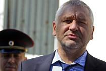 Ruský advokát Mark Fejgin, známý obhajobou mnoha opozičních osobností.