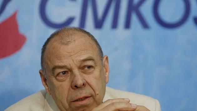 Předseda největší odborářské centrály Jaroslav Zavadil.