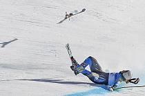 Osmadvacetiletá Pärsonová měla velkou naději na šestou olympijskou medaili. Na mezičasech bojovala o druhé místo, po nepovedeném skoku však bude ráda, pokud bude moci na hrách ve Vancouveru znovu závodit.