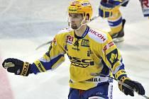 Útočník Zlína Jaroslav Balaštík svými góly zajistil Ševcům postup do finále hokejové extraligy.