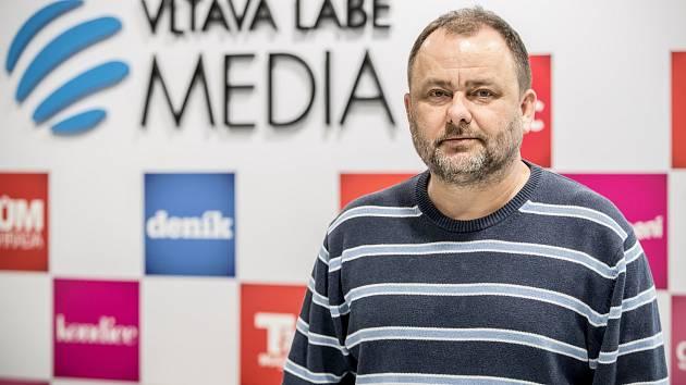 Ředitel redakcí Deníku Roman Gallo
