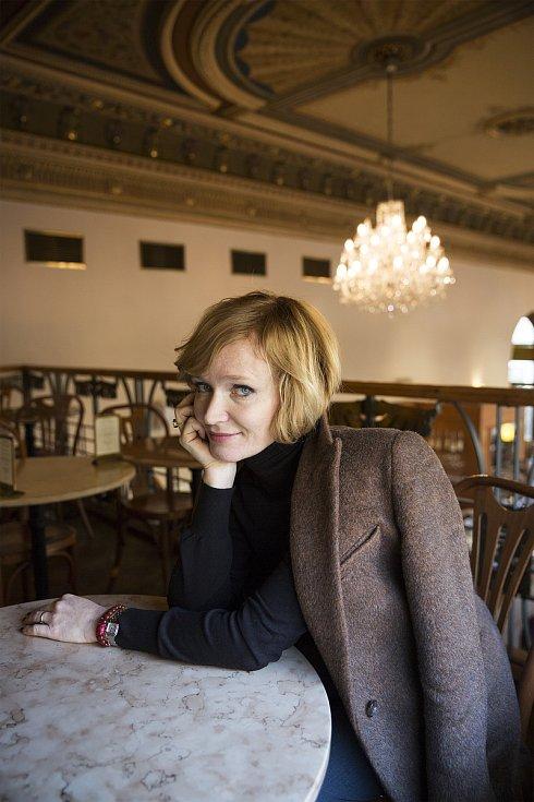 Herečka Aňa Geislerová