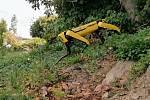 Roboty umí chodit z kopce