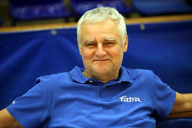 Roman Macek, předseda zlínského volejbalového klubu