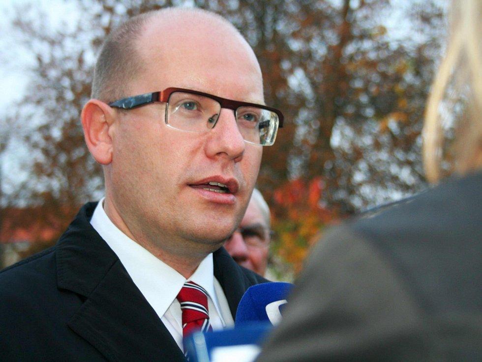 Bohuslav Sobotka v roce 2013
