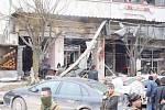 Útok sebevražedného atentátníka v syrském městě Manbidž