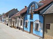 Vinné sklepy v obci Nechory