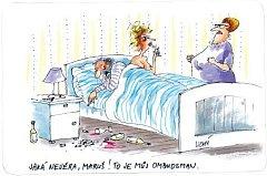 Jaká nevěra, Maruš! To je můj ombudsman.