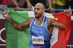 Lamont Marcell Jacobs, vítěz stovky na olympiádě v Tokiu