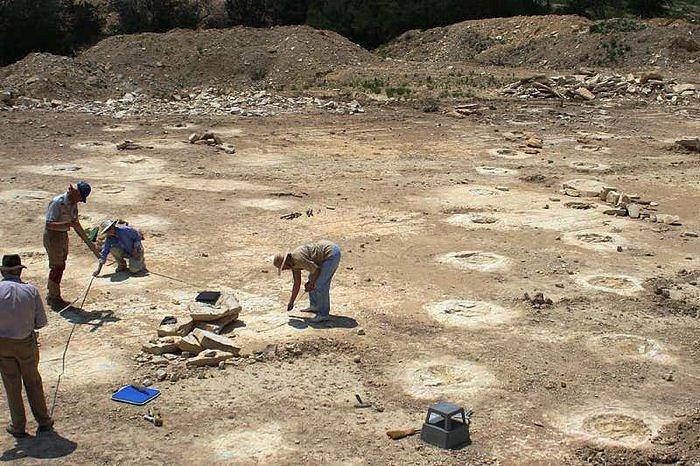 Dinosauří stopy v údolí zvaném Coffee Hollow v Texasu podnítily pozoruhodnou teorii