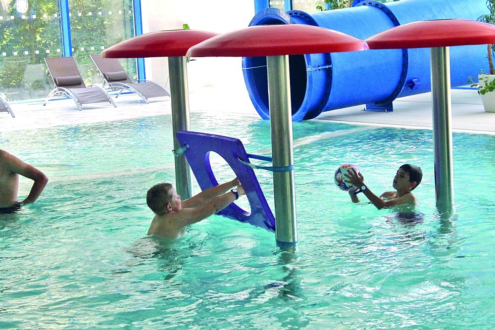 Aquacentrum Domažlice nabízí širokou škálu zábavy i odpočinku.