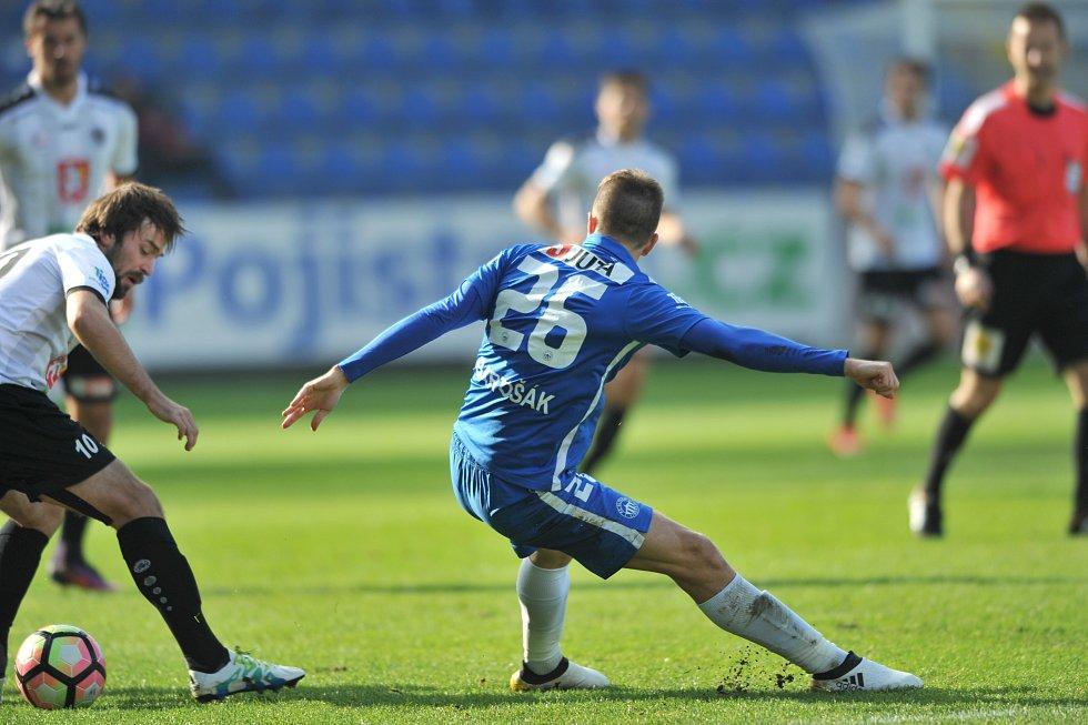 11. ligové kolo: Liberec - Hradec Králové 2:0
