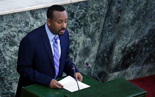 Abiy Ahmed, etiopský premiér.