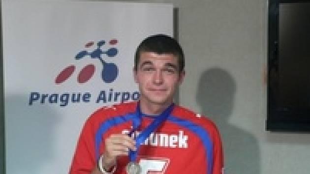 Jan Šimůnek na tiskové konferenci