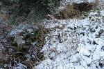 Ondrášovy díry v zimě