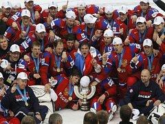 Hokejisté Ruska se stali mistry světa.