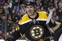 Jaromír Jágr v dresu Boston Bruins