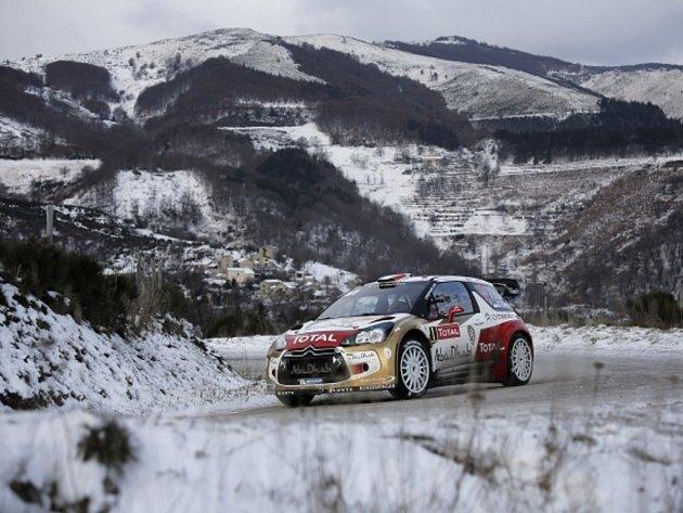 Sébastien Loeb na Rallye Monte Carlo.