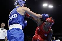 Boxerka Claressa Shieldsová (vpravo) obhájila na olympijských hrách v Riu de Janeiro zlato.