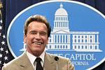 Kalifornský guvernér Arnold Schwarzenegger.