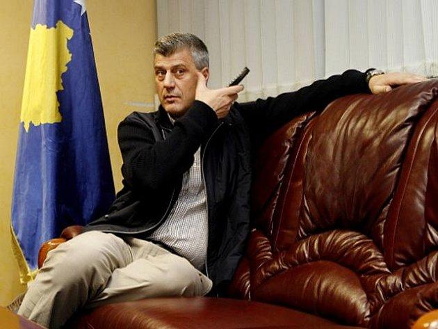 Předseda kosovské vlády Hashim Thaçi.