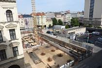 Rozestavěné Janáčkovo kulturní centrum