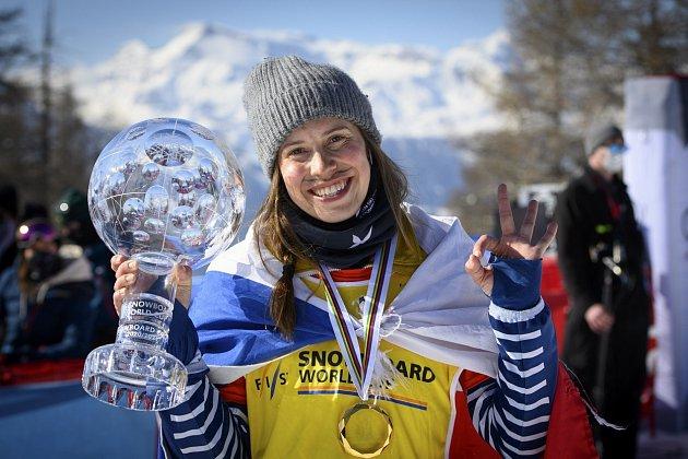 Snowboardcrossařka Eva Samková