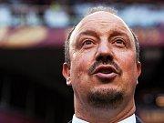 Trenér Chelsea Rafa Benitez dovedl Chelsea k triumfu v Evropské lize.