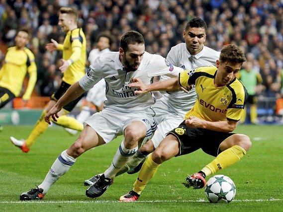 6. kolo základních skupin LM: Real Madrid - Dortmund 2:2