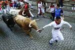 Pamplona, tradiční běh s býky