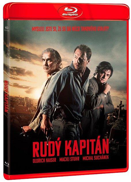 Kriminální thriller Rudý kapitán na Blue-ray nosiči.