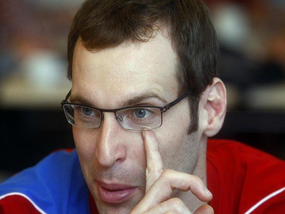 Brankář české fotbalové reprezentace Petr Čech.