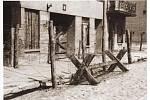 """""""Cikánský tábor"""" v lodžském židovském ghettu. V Chelmnu bylo do roku 1943 zplynováno na 5000 Romů"""