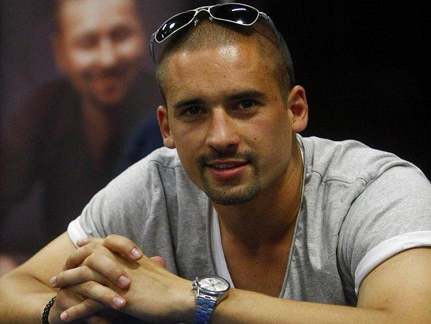 Útočník Montrealu a české reprezentace Tomáš Plekanec.