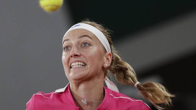 Česká tenistka Petra Kvitová v 1. kole French Open