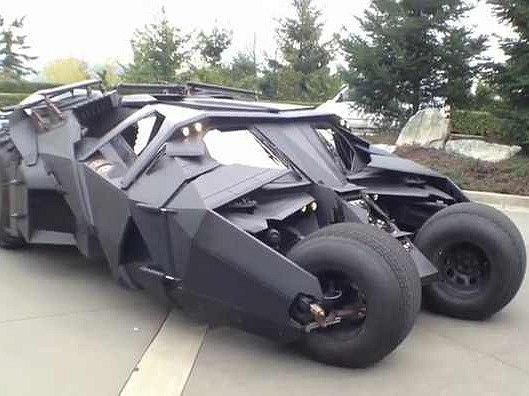 Nový Batmobile se letos představí ve filmu.