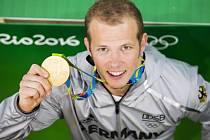 Olympijský vítěz ve cvičení na hrazdě Fabian Hambüchen