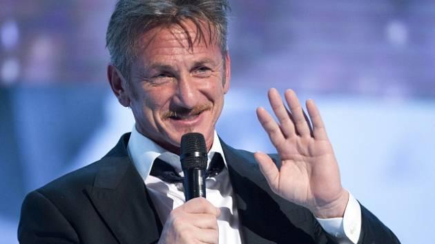 Americký herec Sean Penn.